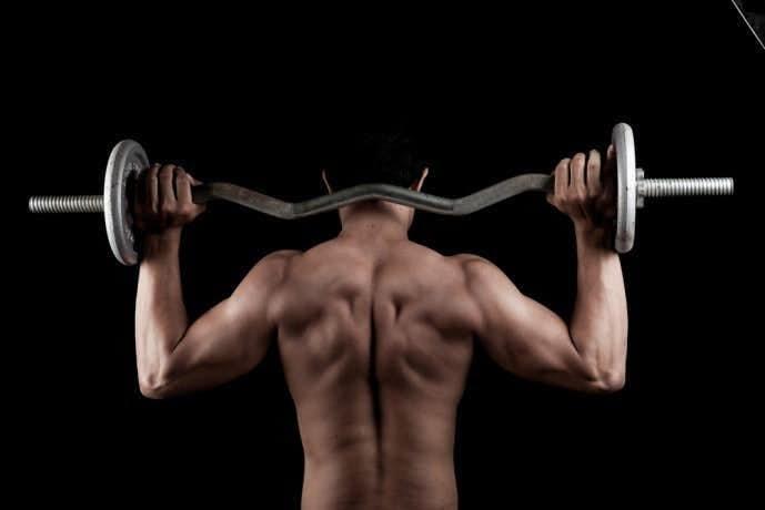 グッドモーニングトレーニングを後ろから見た画像