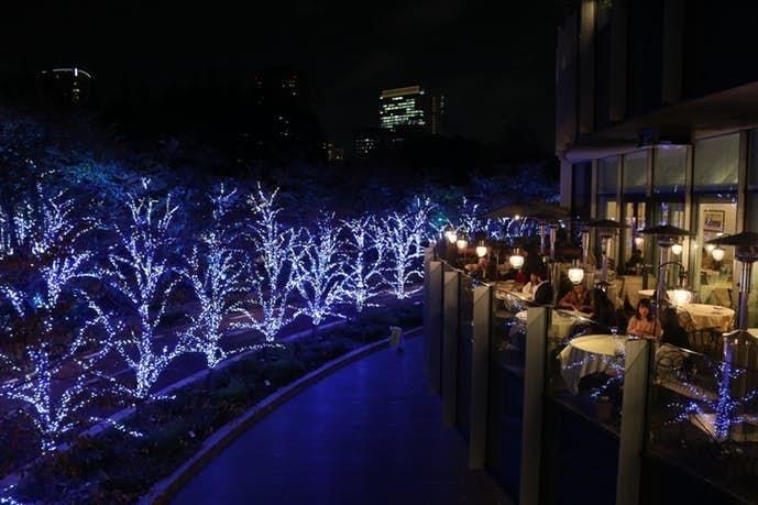 2018年のクリスマスデートはミッドタウンのイルミネーションが見えるレストランがおすすめ