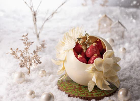 2018年の人気クリスマスケーキはホテル阪急インターナショナル限定5台