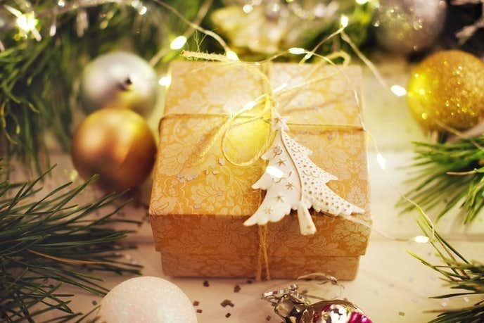 クリスマスプレゼント ペアネックレス