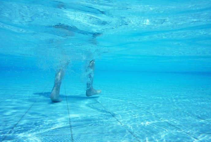 水中ウォーキングで効果的に痩せる方法