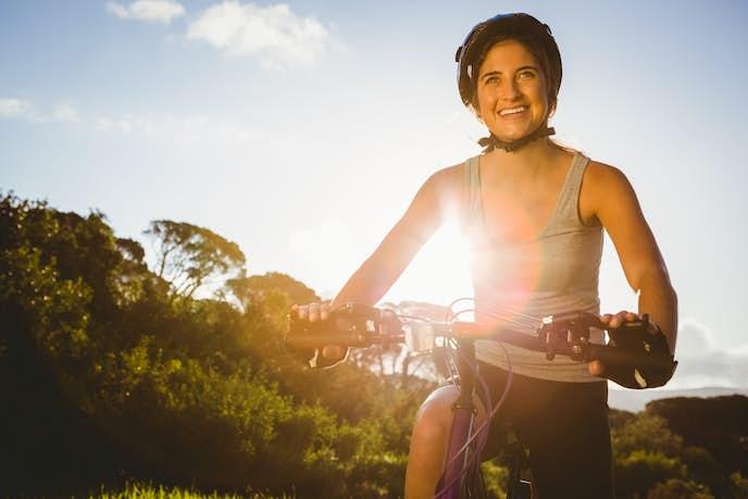 登山トレーニングに効果的な自転車