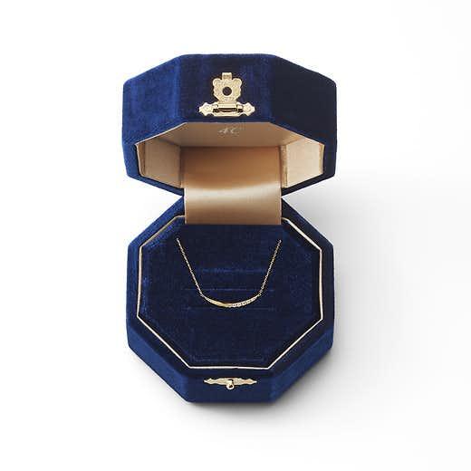 クリスマスプレゼントのネックレスに付く限定ケース