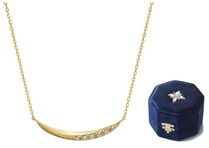 クリスマスプレゼントにおすすめのネックレスはヨンドシーのイエローゴールド