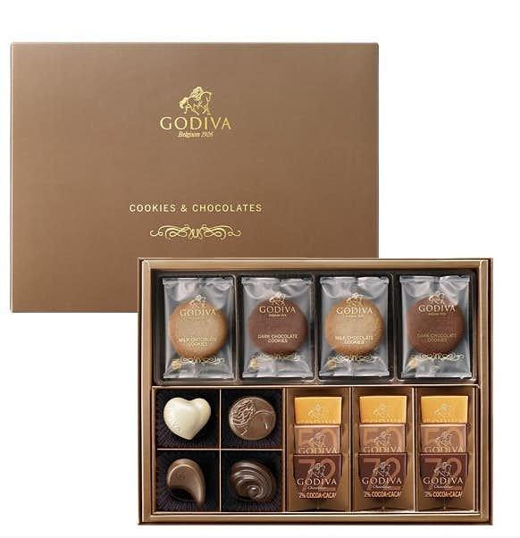 女友達への誕生日プレゼントはクッキー&チョコレート アソートメント