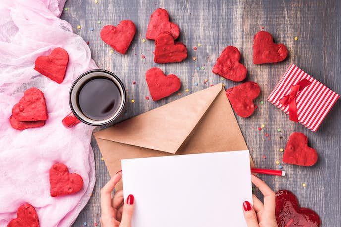 彼氏 バレンタイン メッセージ カード