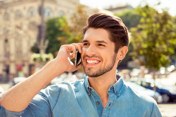 好き な 人 と 電話 話題