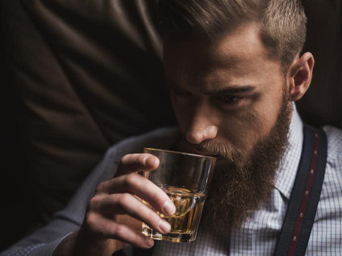 高級なウイスキーを楽しんでみて