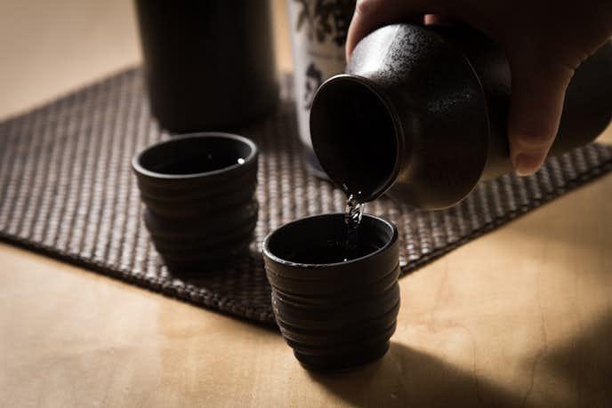 辛口の日本酒を堪能してみて