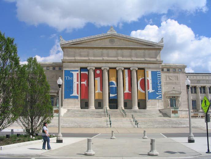 シカゴの観光スポットのフィールド自然博物館