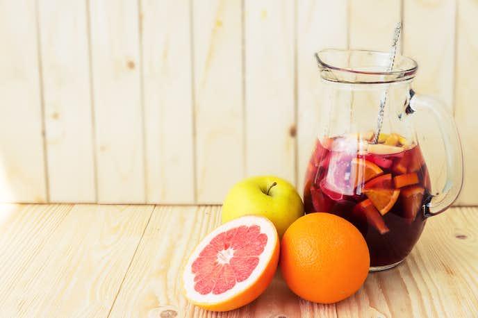フルーツの香りが楽しめる果実酒を楽しんでみて