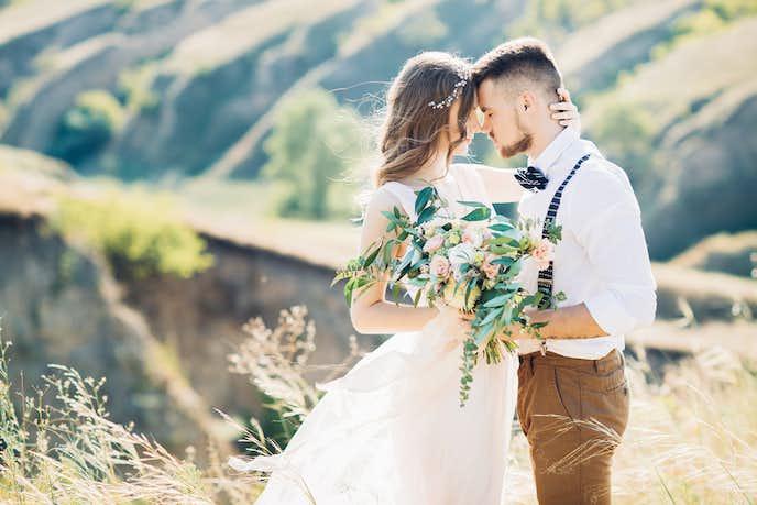 婚活パーティーで結婚した男女