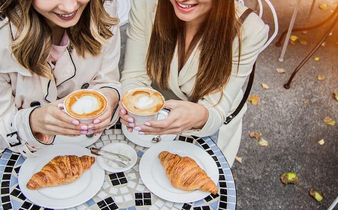 カフェ女子会