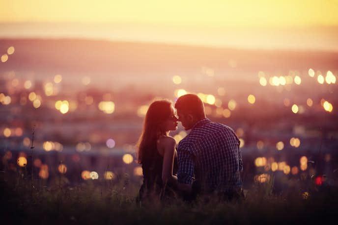デート中のカップル