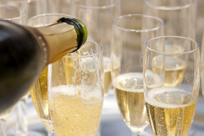 おすすめのスパークリングワインを大公開