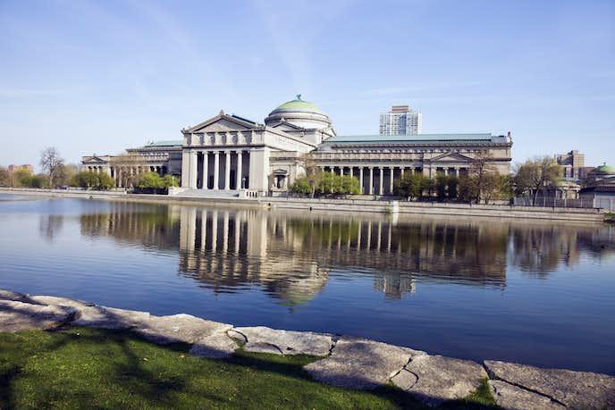 シカゴの観光スポットのシカゴ科学博物館
