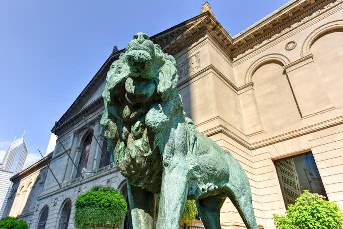 シカゴの観光スポットのシカゴ美術館