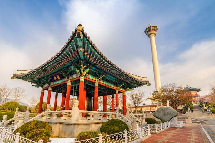 釜山のおすすめ観光スポット『九頭山神社』の画像