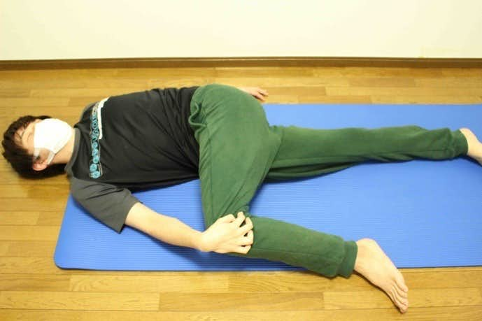 中臀筋を最も伸ばせるストレッチ
