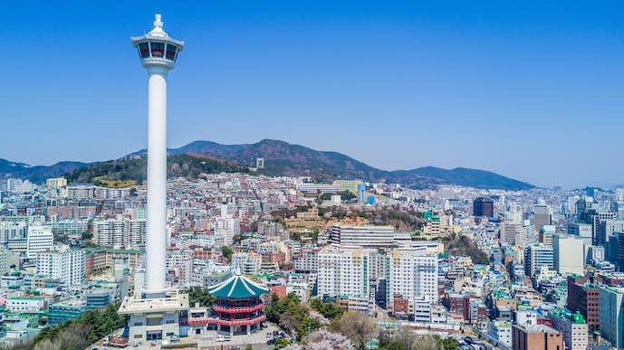 釜山のおすすめ観光地『釜山タワー』の写真