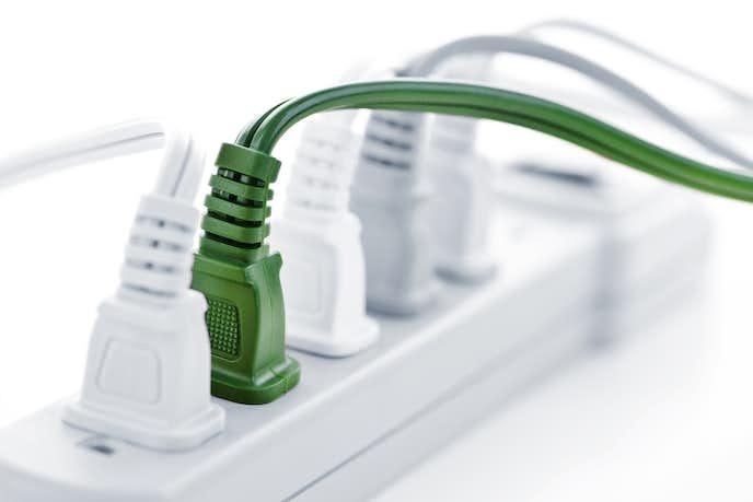電源タップは主に2種類ある