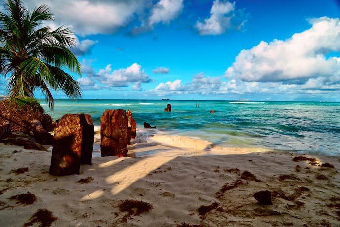 サイパンのビーチ風景