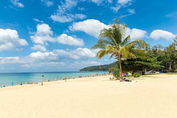 タイ・プーケットのおすすめ観光スポット「カロンビーチ」