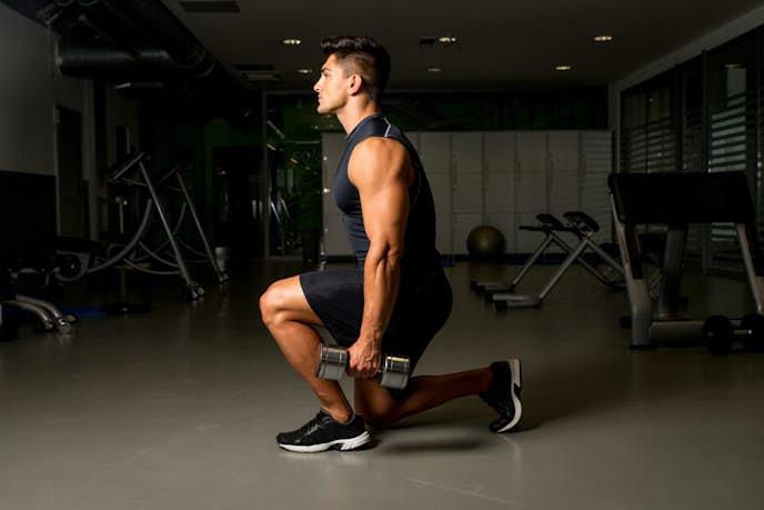 超腰筋の効果的なトレーニング「レッグランジ」