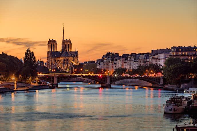 パリのおすすめの観光スポットにセーヌ川