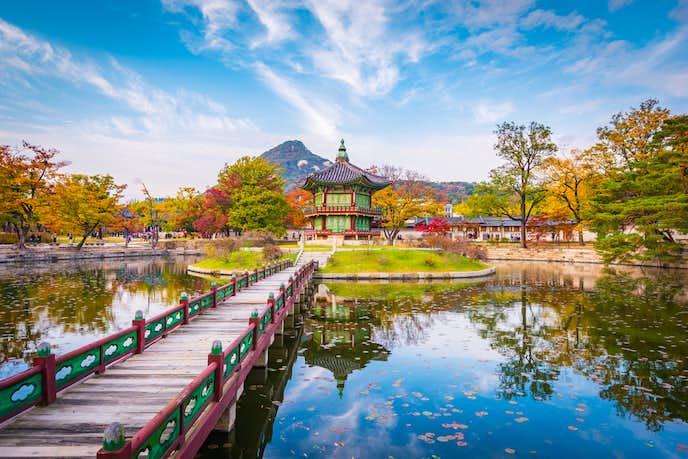 韓国のおすすめ観光地「景福宮」