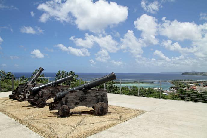 グアムのおすすめ観光スポット「アプガン砦」