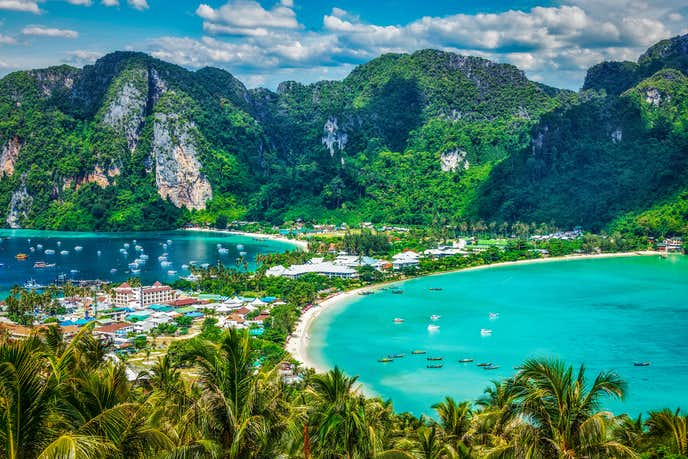 タイ・プーケットのおすすめ観光地「ピピ島」