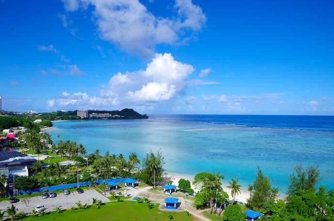 グアムのおすすめ観光スポット「イパオビーチ」