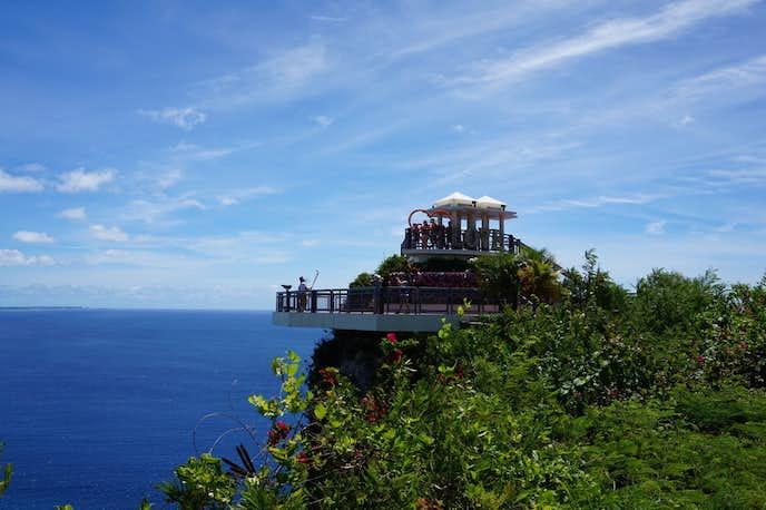 グアムのおすすめ観光スポット「恋人岬」