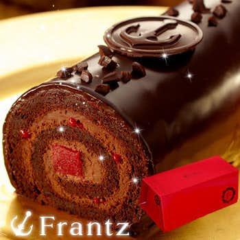母の日のプレゼントに神戸フランツのチョコロールケーキ.jpg