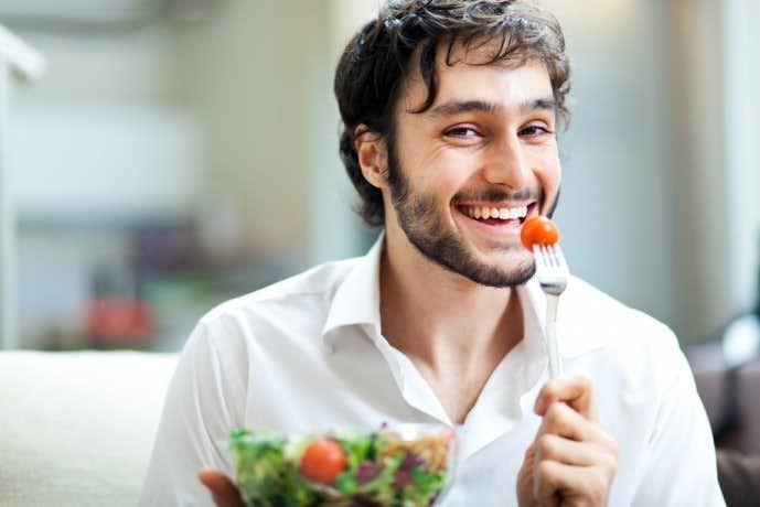 痩せるためには食事も気を配る