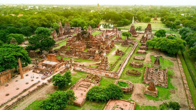 タイ・アユタヤのおすすめ観光地「ワット・マハータート」