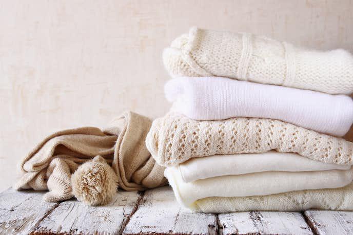 セーターの正しい保管方法とは