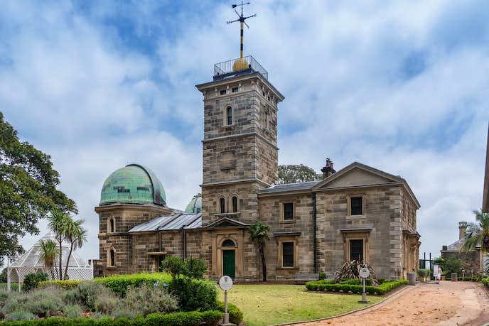 オーストラリアのおすすめの観光スポットにシドニー天文台