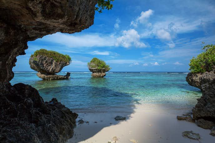 グアムの綺麗な海