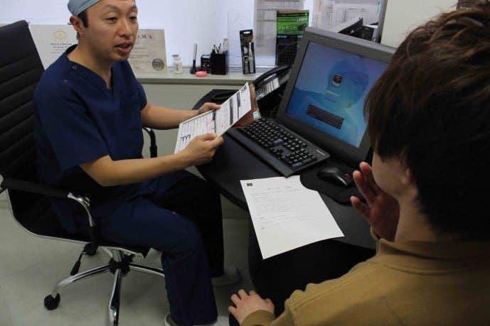 ゴリラクリニック新宿の医師によるカウンセリング