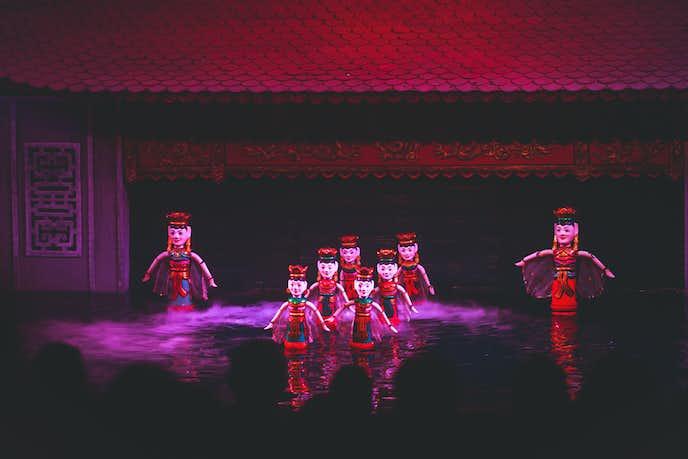 ベトナム・ハノイのおすすめ旅行スポット「タンロン水上人形劇場」