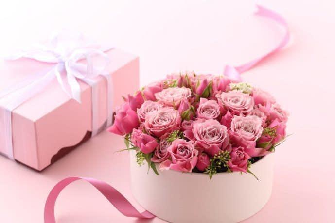 母の日は花をプレゼント