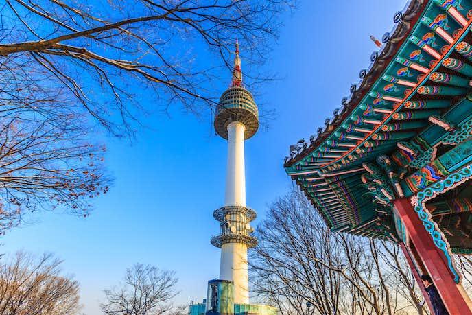 ソウルのおすすめ観光スポット「ソウルタワー」