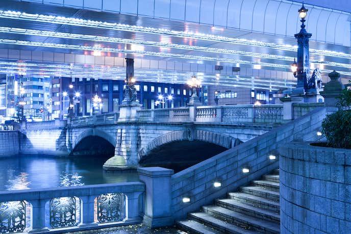 日本橋の夜景