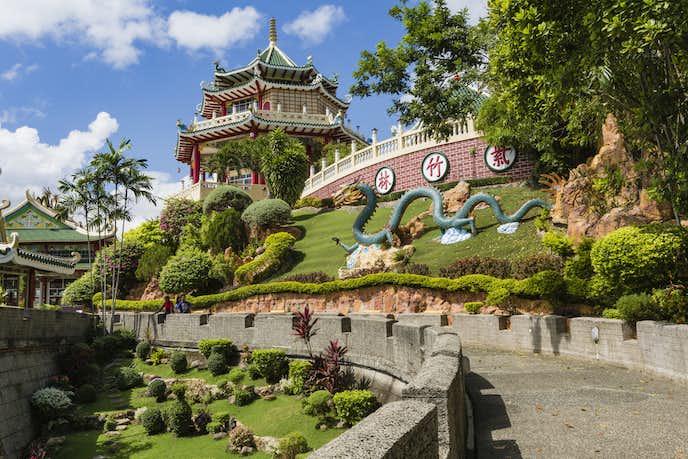 セブでおすすめの観光スポット「道教寺院」