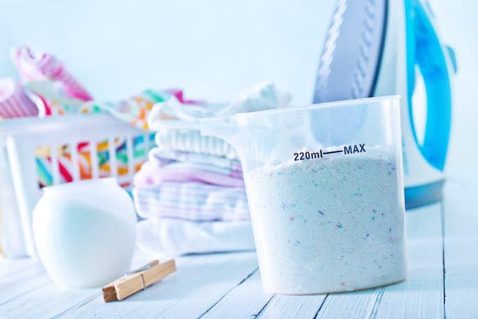 洗濯洗剤のタイプは主に2種類ある