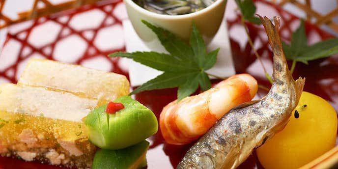 柿傅の美味しい和食ランチ