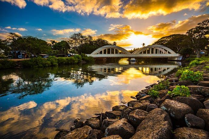 ハワイのおすすめ観光スポット「ノースショアハレイワ」