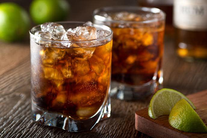ラム酒のタイプは主に3種類ある